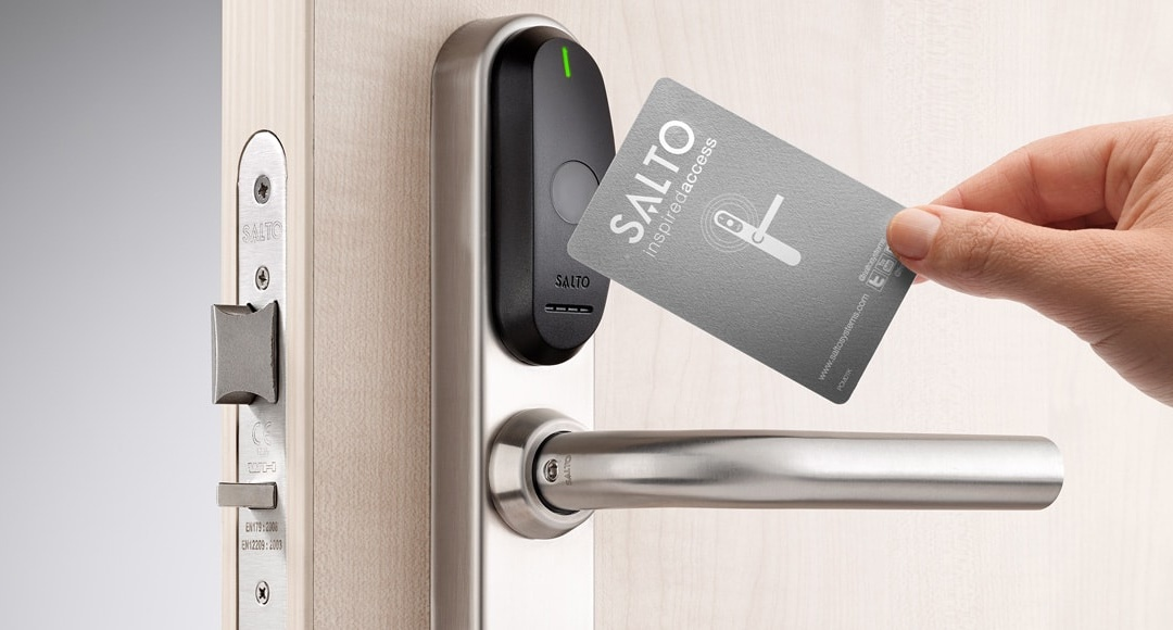 SALTO wireless real-time access control systems | Coastal